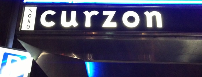 Curzon Soho is one of Locais curtidos por cui.