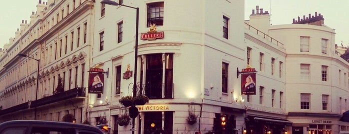 The Victoria is one of Time Out London.