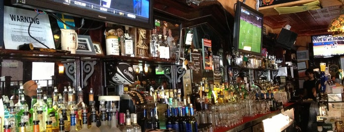 Baker Street Pub is one of NYC Brunch list.