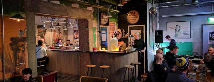 B-side bar is one of Helsinki.