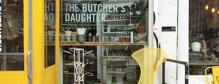 The Butcher's Daughter is one of New York - Food.