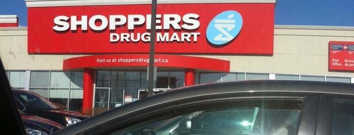 Shoppers Drug Mart is one of Lugares favoritos de Merlina.