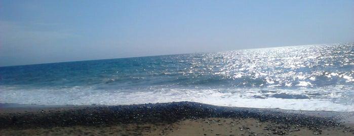 Playa Camarones is one of Locais curtidos por Luis.