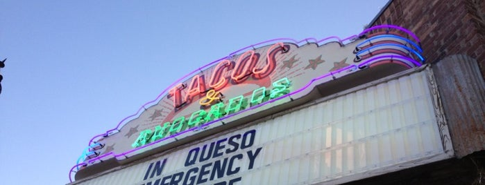Tacos & Avocados is one of สถานที่ที่บันทึกไว้ของ Aimee.