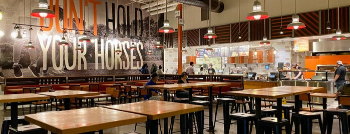 Blaze Pizza is one of Would go again.