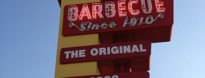 Sonny Bryan's Smokehouse is one of Man vs Food Spots Texas.
