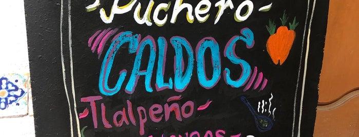 Sanadoras La Calderia is one of Food.