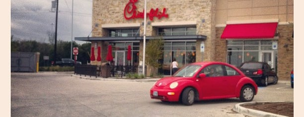 Chick-fil-A is one of Orte, die Earl gefallen.