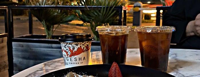 Gesha Coffee Co. is one of Lieux qui ont plu à 9aq3obeya.