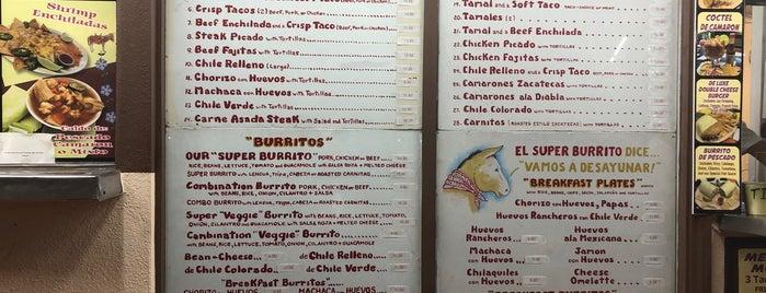 El Super Burrito is one of Posti salvati di Larry.