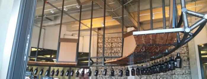 Concrete Beach Brewery is one of สถานที่ที่บันทึกไว้ของ Marcel.