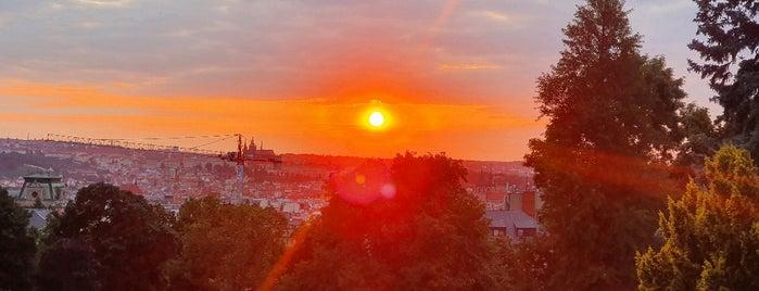 Vyhlídka Riegrovy sady is one of Todo Prague.