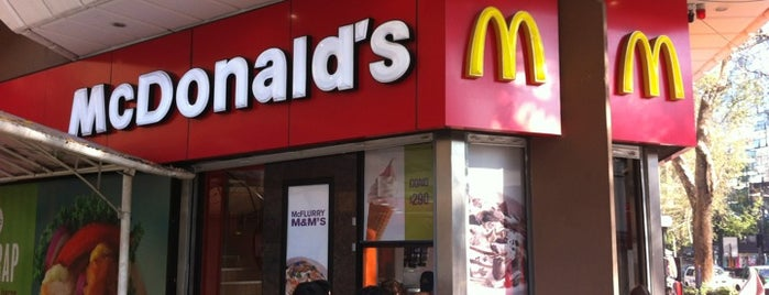 McDonald's is one of Por ai... em Santiago (Chile).