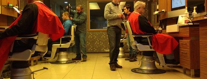 Recep's Barber Shop is one of สถานที่ที่ Mehmet Nadir ถูกใจ.