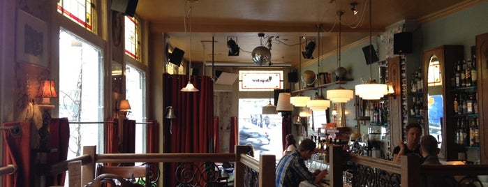 Café Langereis is one of Amsterdam bars with a cat.