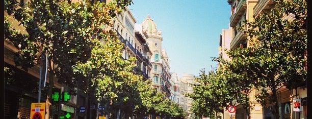 Carrer Gran de Gràcia is one of Barcelona.