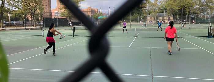 Seward Park Tennis Courts is one of New York.
