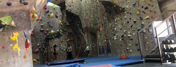 The Cliffs Climbing Gym is one of NYC.