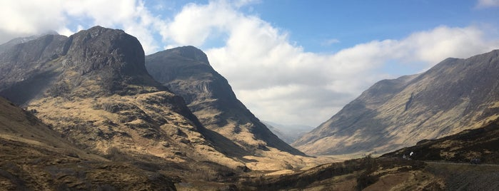 Glencoe is one of Scotland.