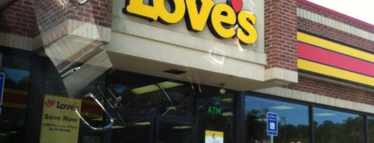 Love's Travel Stop is one of Adam's Liked Places.