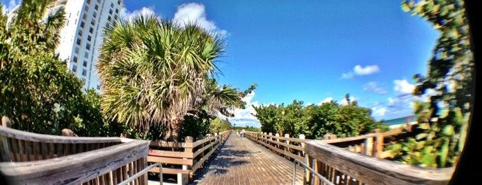 Miami Beach Boardwalk is one of Miami.