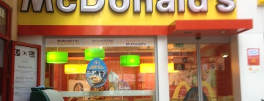McDonald's is one of Orte, die Sinan gefallen.