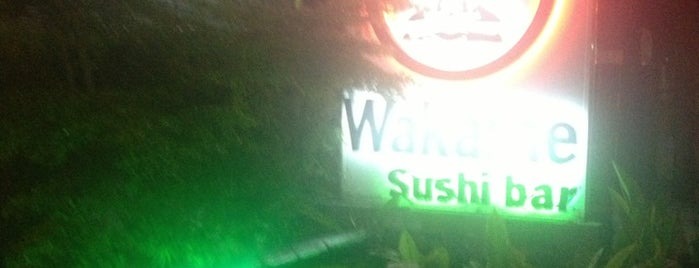Wakame Sushi Bar is one of Best places in Venezuela.