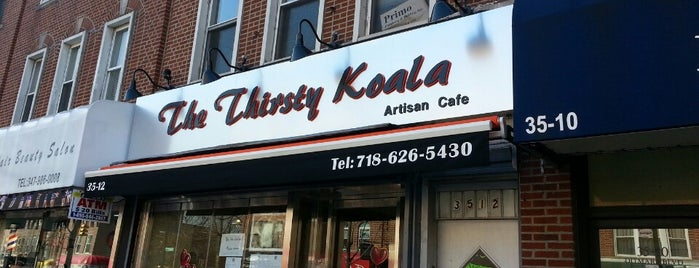 The Thirsty Koala is one of places in Astoria.
