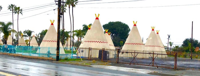 Wigwam Motel is one of SoCal to-do.
