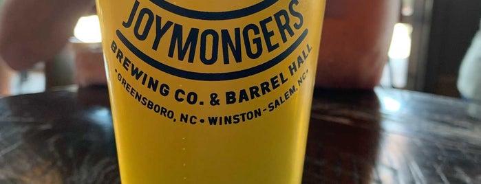 Joymongers Brewing Co. is one of Breweries or Bust 2.