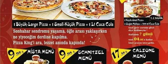 Pizza King - Kuşadası is one of Posti salvati di Berk.