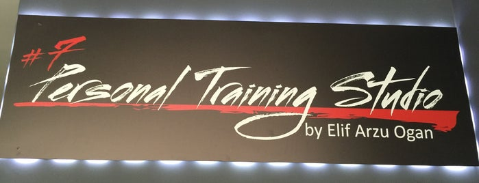 7 Personal Training Studio is one of Locais curtidos por Ali Engin.