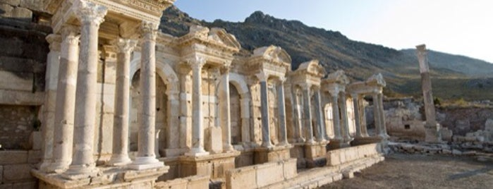 Sagalassos Antik Kenti is one of ANCIENT LOCATIONS IN TURKEY.