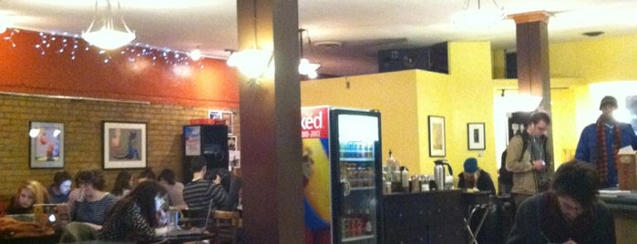 Espresso Royale Cafe is one of สถานที่ที่ Derek ถูกใจ.