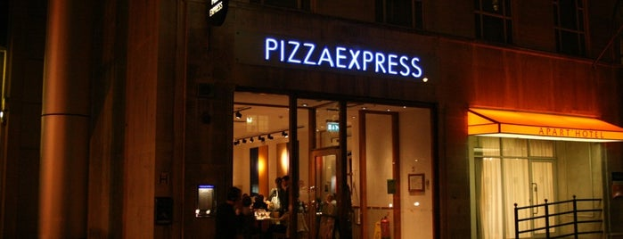 Pizza Express is one of Top London.