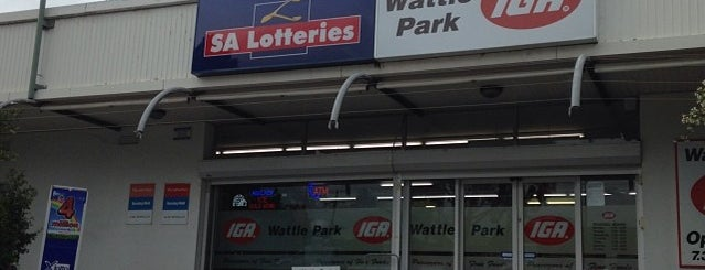 Wattle Park IGA is one of Adelaide.