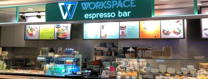 Workspace Espresso Bar is one of Chriz Phoebe 님이 좋아한 장소.