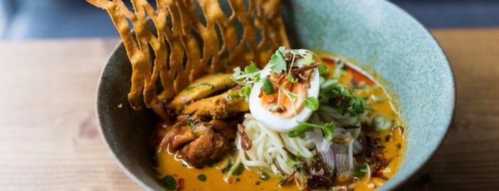 Lahpet Burmese Cuisine is one of London v2 🇬🇧.