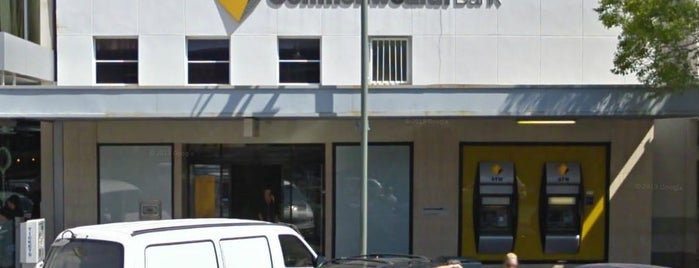Commonwealth Bank is one of Adelaide.