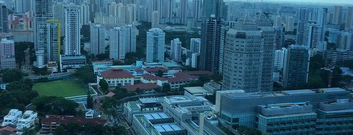 Courtyard by Marriott Singapore Novena is one of Jim'in Beğendiği Mekanlar.