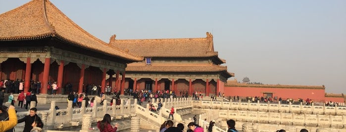 Hall of Central Harmony is one of Best Asian Destinations.