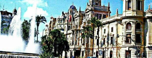 Plaça de l'Ajuntament is one of Valencia.