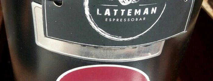 Latte Man Coffee is one of Locais salvos de Bridget.
