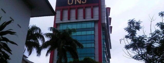 Universitas Negeri Jakarta is one of Rawamangun fav.Place.