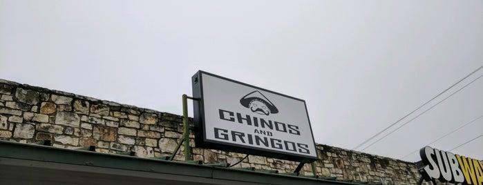 Chinos & Gringos is one of Tempat yang Disimpan Brian.