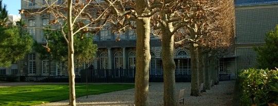 Jardin des Archives Nationales is one of Paris, je t'aime.