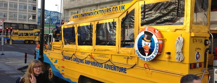 London Duck Tours is one of Tired of London, Tired of Life (Jul-Dec).