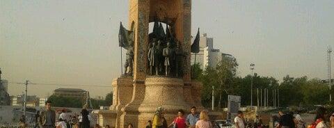 Taksim Meydanı is one of İstanbul.
