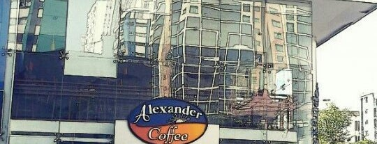Alexander Coffee is one of pour manger =).