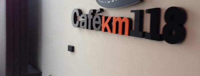 Café Km 118 is one of Restaurantes con área niños.